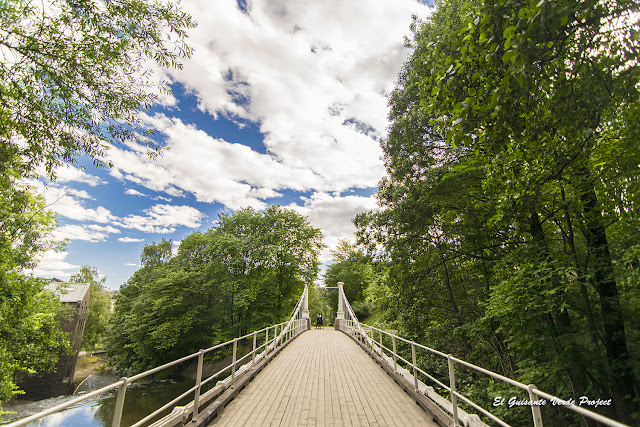 Aamodt Bru, Puente Aamot, Akerselva - Oslo por El Guisante Verde Project