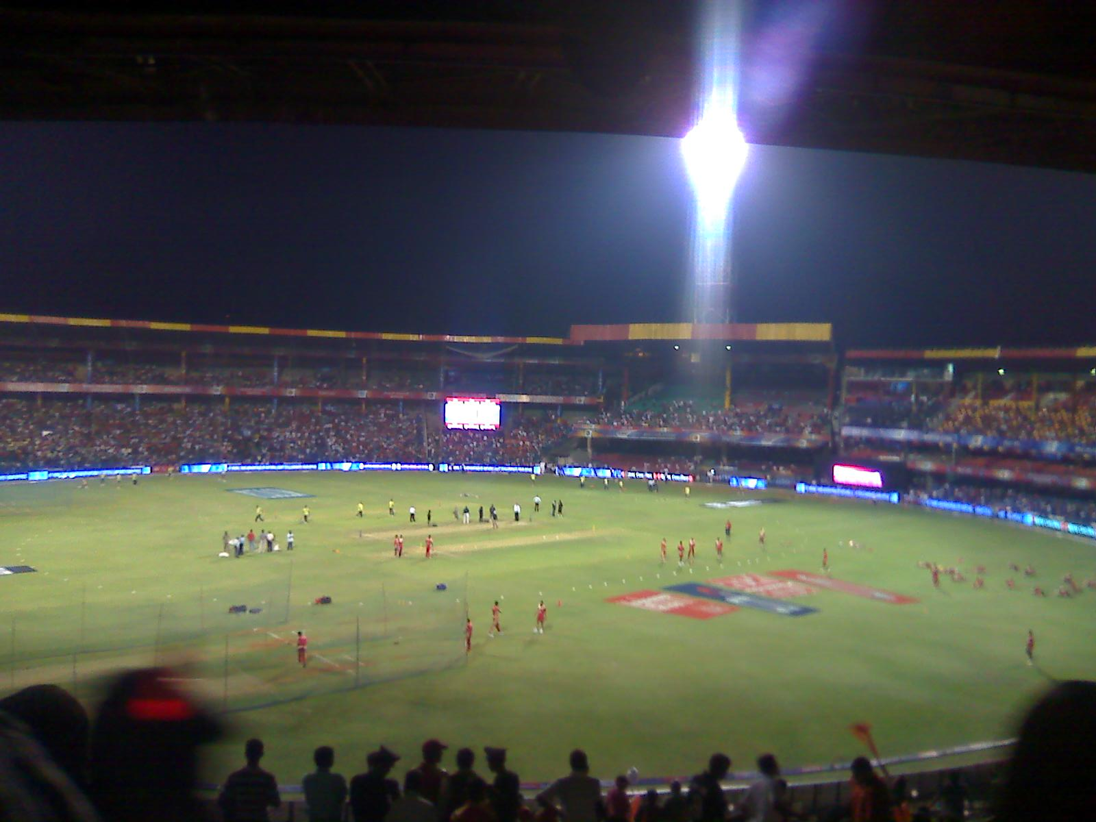 Will Quot Chinnaswamy Stadium Quot Bangalore Get Lighted By Solar