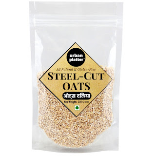 Amazon- Buy Urban Platter Steel Cut Gluten Free Oats, 200g at Rs 53