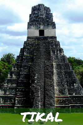 Travel the World: Visiting the ancient Mayan ruins of Tikal National Park in Guatemala, a UNESCO World Heritage Site.