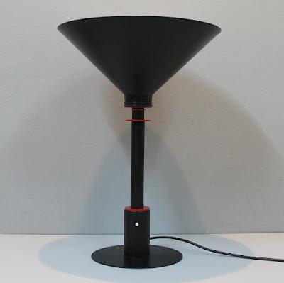 Lámpara de sobremesa de los años 80