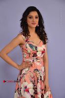 Actress Richa Panai Pos in Sleeveless Floral Long Dress at Rakshaka Batudu Movie Pre Release Function  0006.JPG