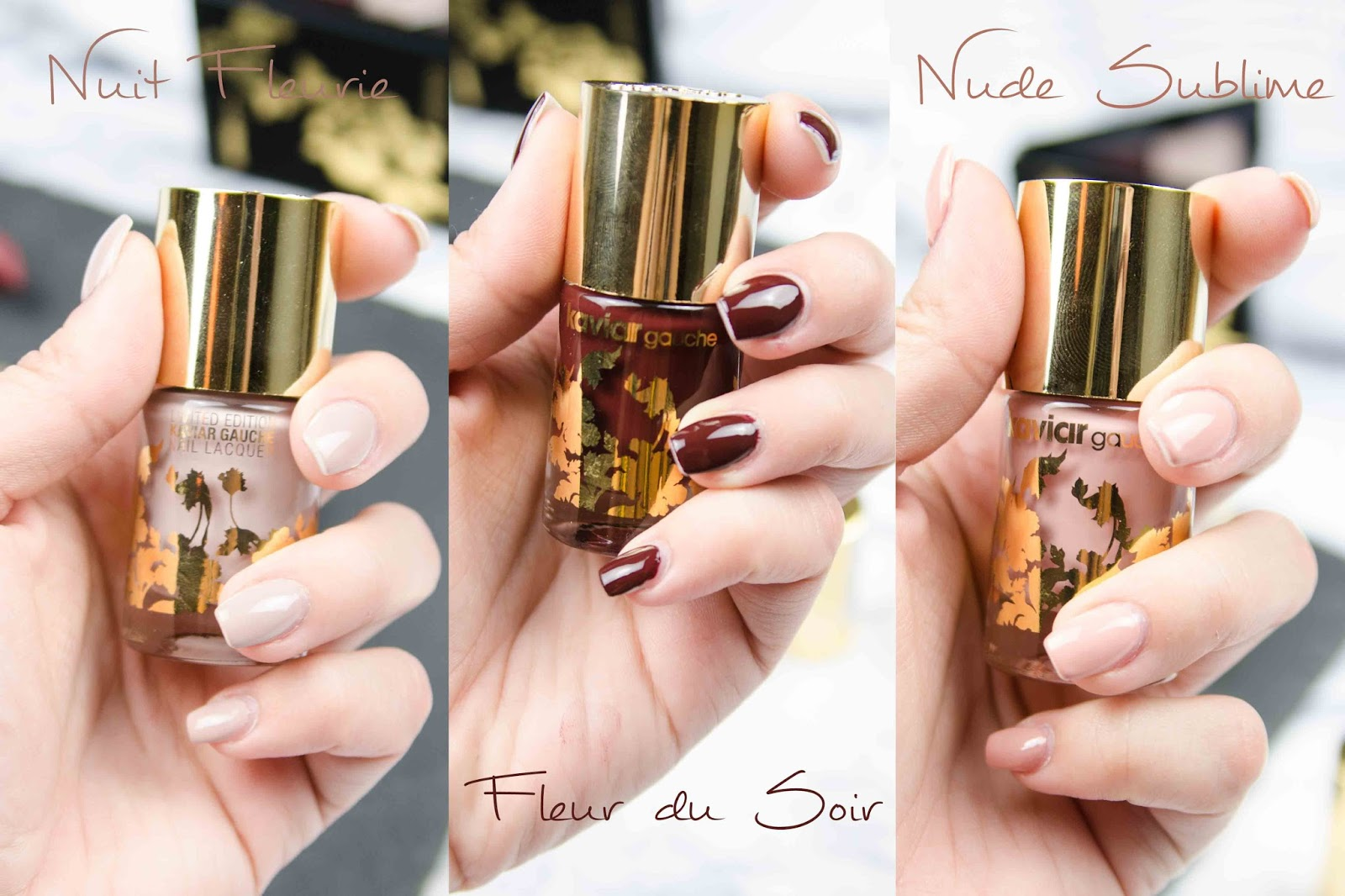 Catrice Kaviar Gauche Limited Edition Nail Laquer Swatches