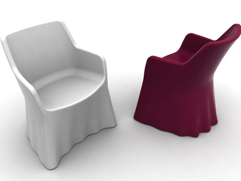 Modern plastic chair designs  An Interior Design
