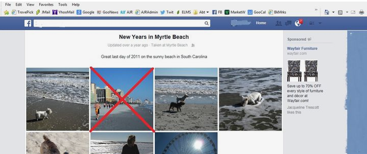 How To Delete A Facebook Photo