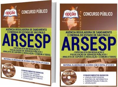Apostila Concurso Arsesp SP 2018