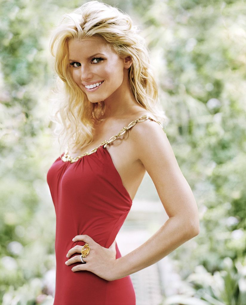 celebrity hairstyle jessica simpson blonde hair