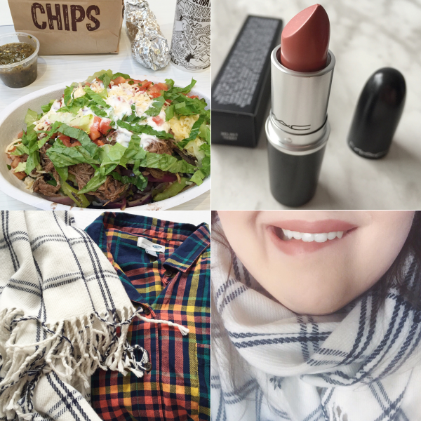 bbloggers, bbloggersca, fbloggers, instagram, instamonth, chipotle, velvet teddy, mac, canada, old navy, h&m, plaid