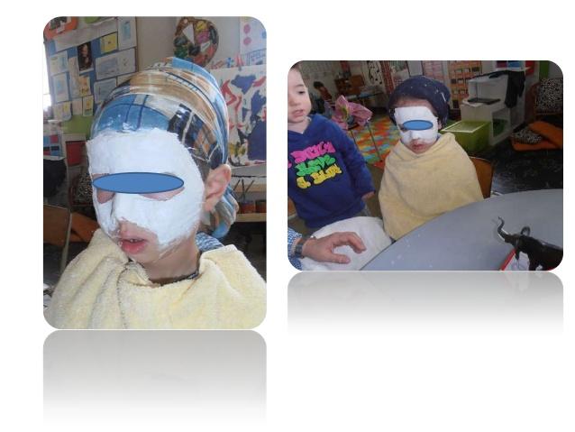mascara de carnaval Educação infantil