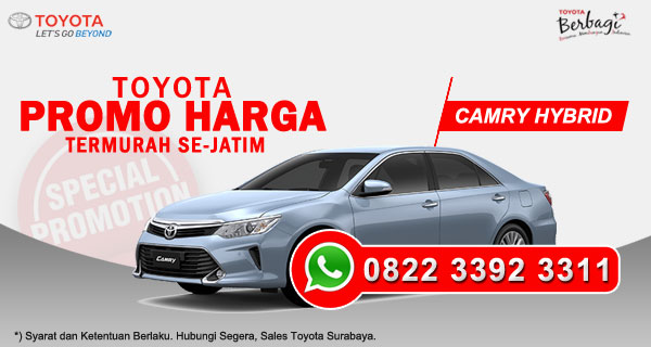 Promo Harga Toyota Camry Hybrid Surabaya
