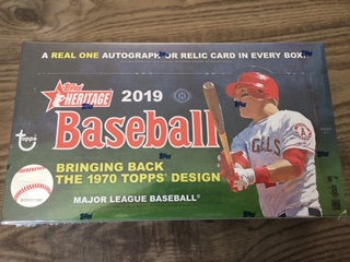 Sport Card Collectors Review2019 Topps Heritage Baseball