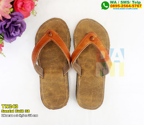 Sandal Kulit 38