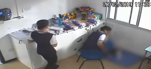 """Diretora de escola é acusada de praticar tortura contra alunos; """"obrigava crianças a comer próprio vômito"""""""