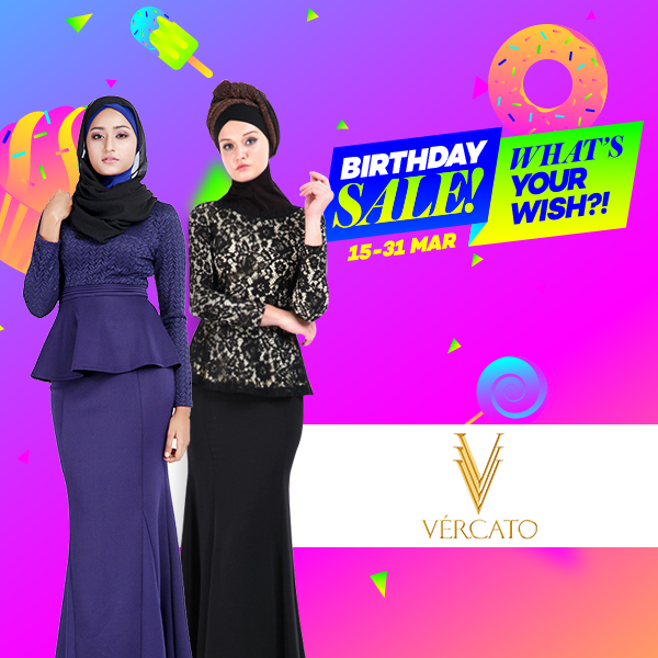 Happy Birthday to Lazada and we have some great news for you if you are  into modern and minimalist baju kurung moden! cf8c84dbfd