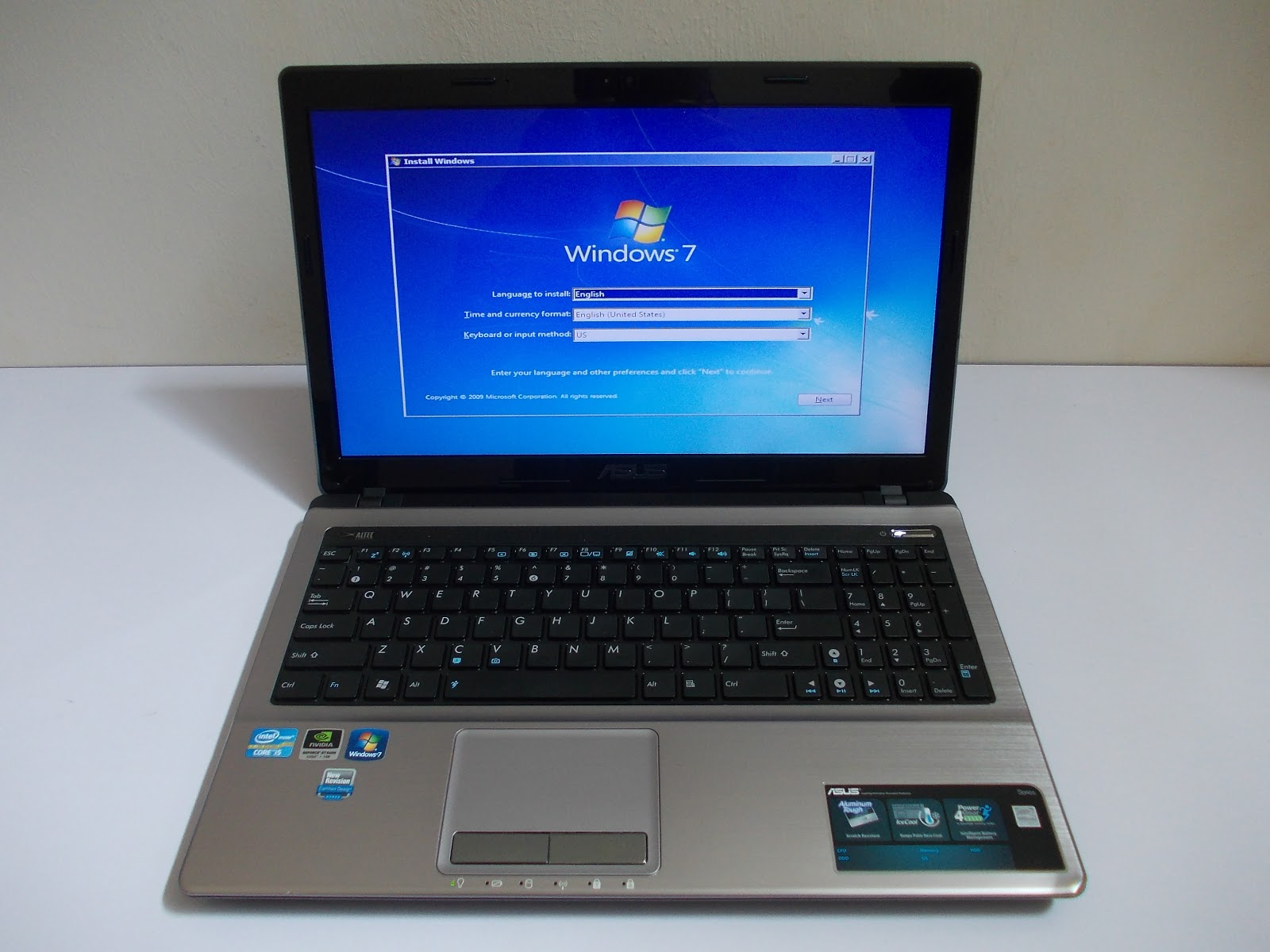 Three A Tech Computer Sales And Services Used Laptop Asus A53s Core Ram Ddr3 1gb Warranty Expired May 2013 Condition Tiptop 95 Like New Spec Intel I5 2410m 230 Ghz 3m Cacheturbo Up To 29ghz 4 Gb 500 Sata