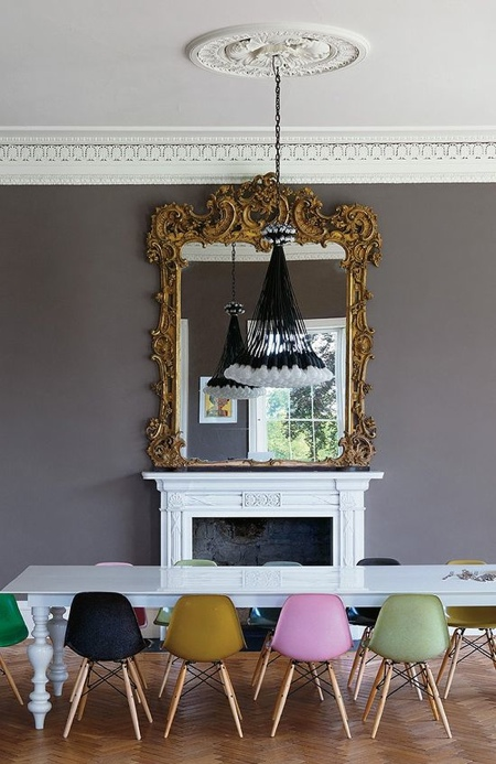 Decor inspiration | coloured chairs