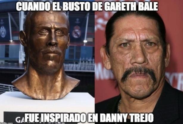 Busto de Bale y Dani Trejo, parecidos razonables