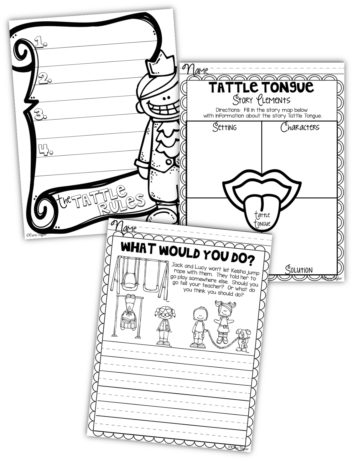 Creative Playground: Rid Your Students of Tattle Tongue