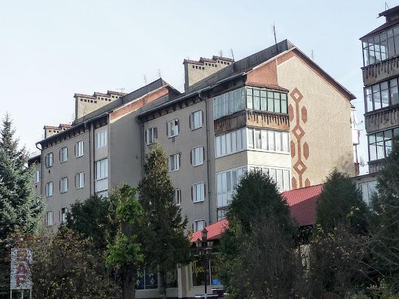 Посёлок Выгода. Пятиэтажные жилые дома