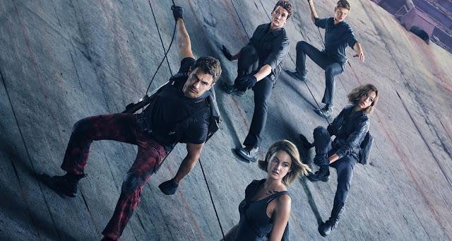 A Série Divergente: Convergente | Anunciada data de pré-venda + Trailer final legendado e arte inédita