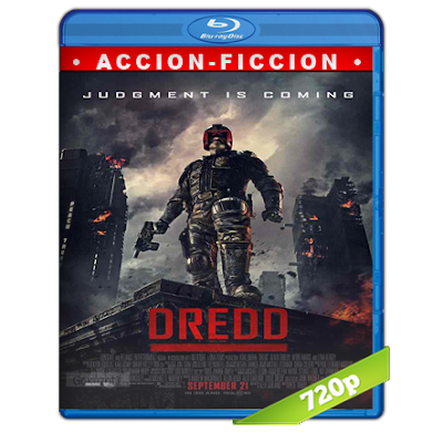 Dredd (2012) BRRip 720p Audio Trial Latino-Castellano-Ingles 5.1