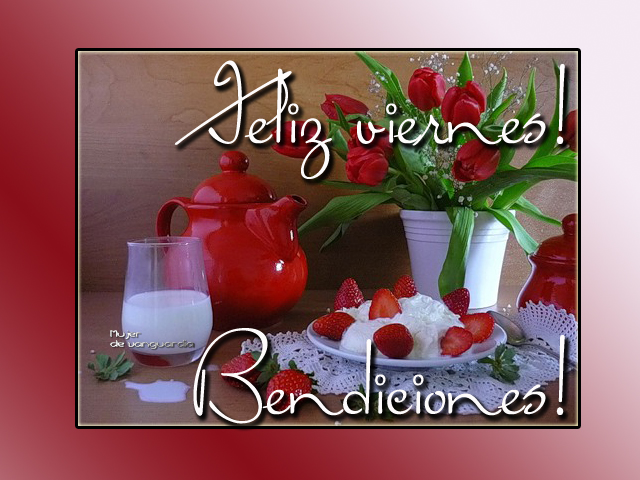 Tarjetas De Buenos Dias Con Panecillos Y Cafe