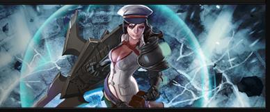 Catherine adalah karakter hero vainglory yang berposisi sebagai Captain dan ber role Tanker