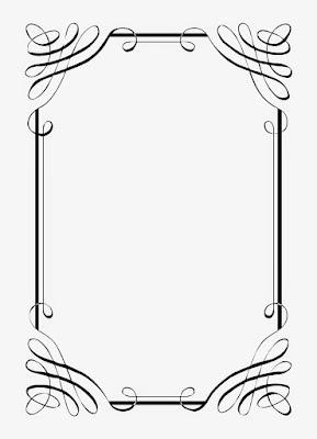 Beberapa Contoh Desain Bingkai Undangan Pernikahan