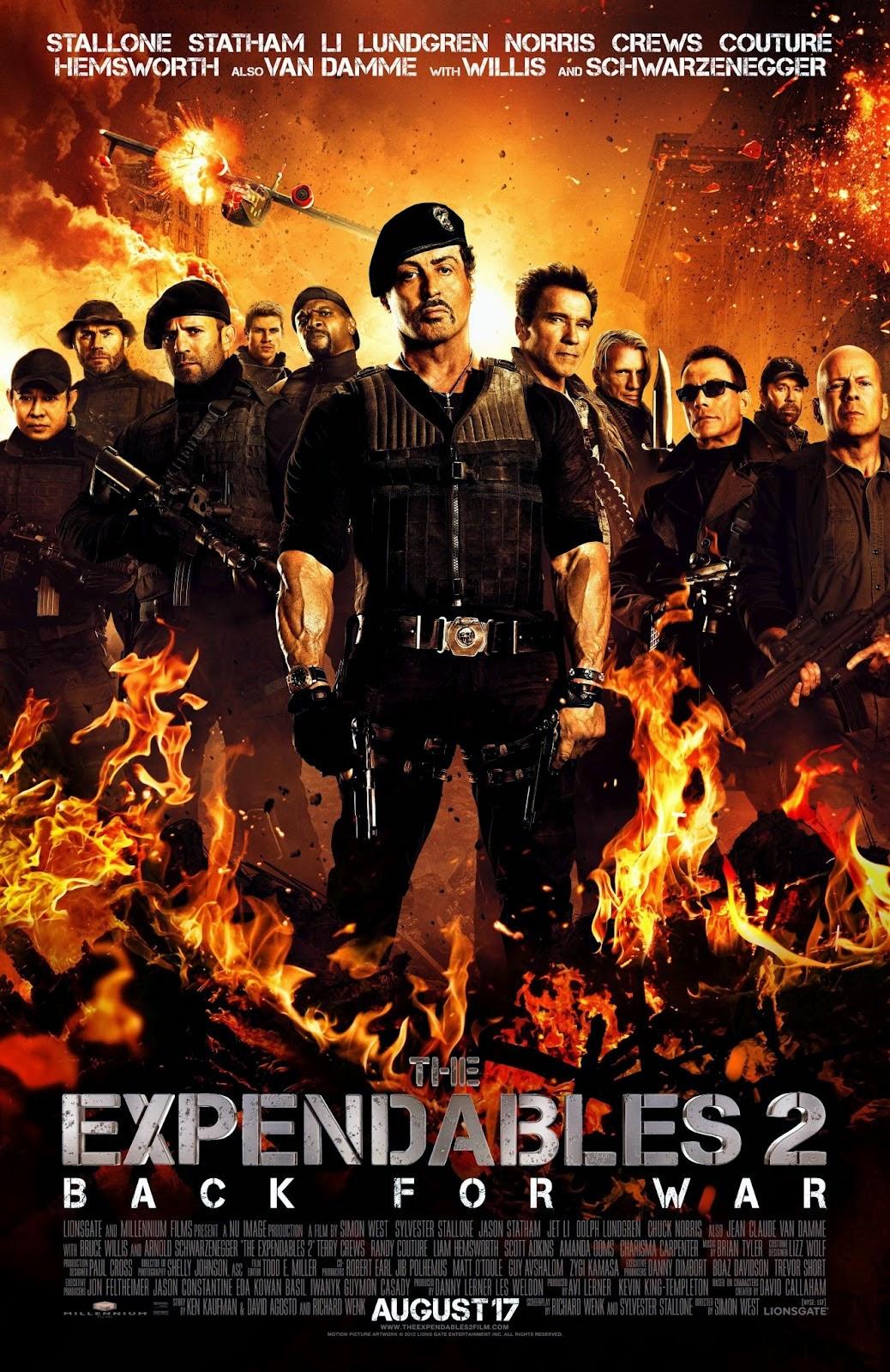 The Expendables 2 โคตรคนทีมเอ็กซ์เพนเดเบิ้ล [HD][พากย์ไทย]