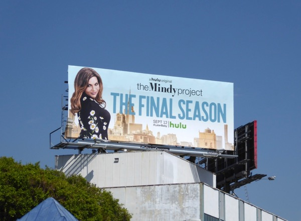 Mindy Project final season 6 billboard