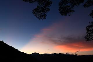 two tone sunrise