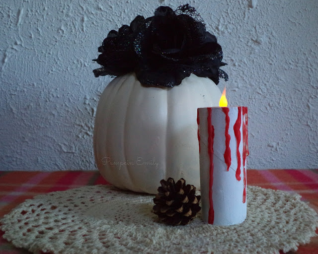 DIY Paper Roll Candle