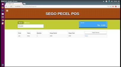 Download source code Aplikasi Web POS Kasir Gratis