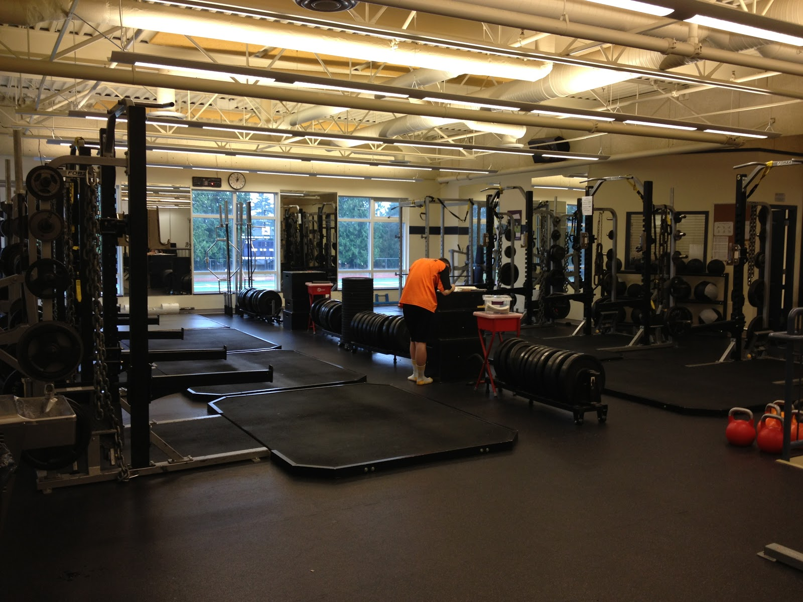 Gay weight room