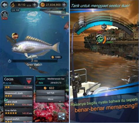 Kail Pancing Fishing Hook Mod Apk