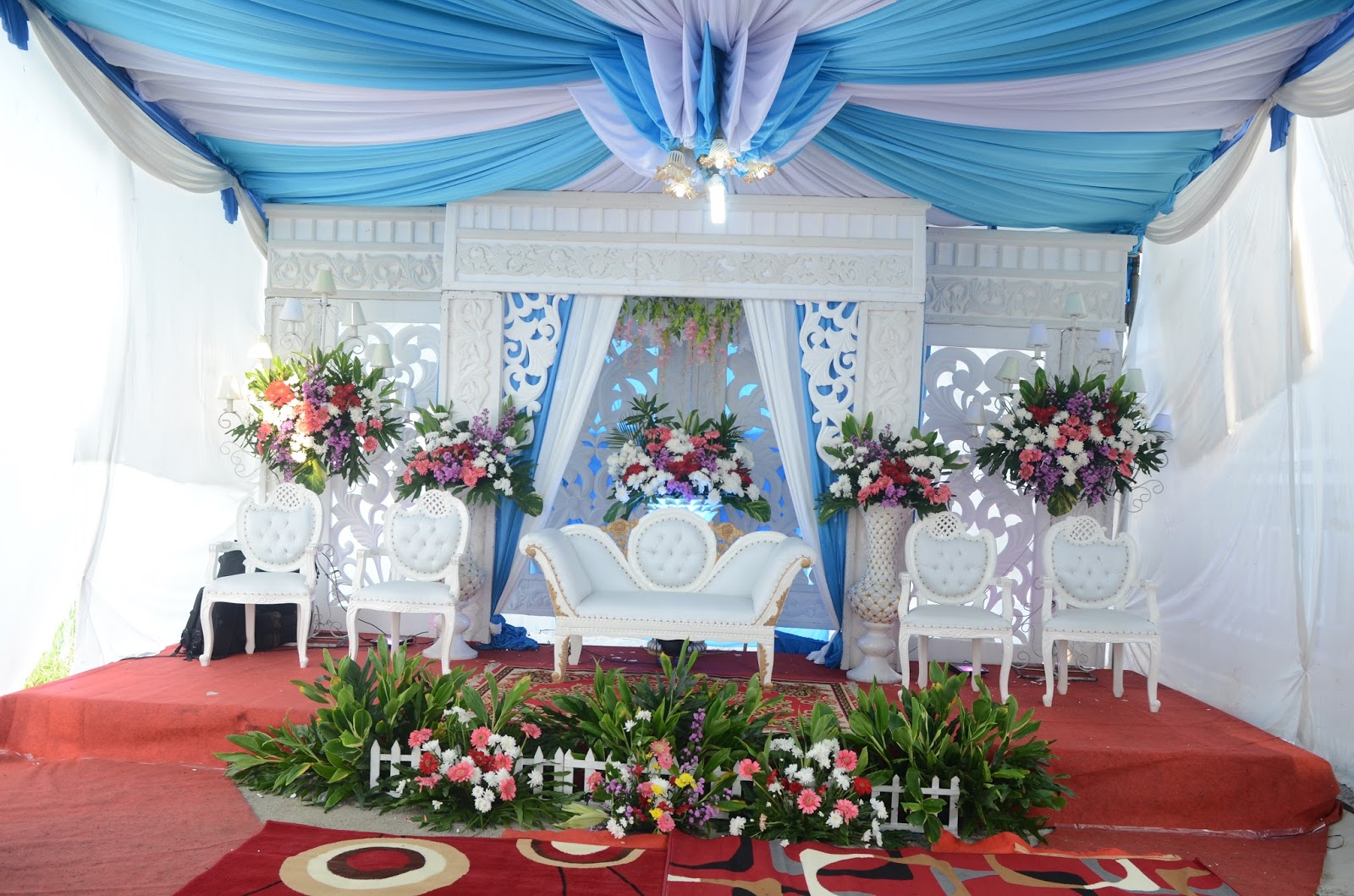 gambar dekorasi tenda dan pelaminan i