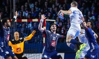 Watch France vs Russia live Stream Today 17/1/2019 online 2019 World Men's Handball