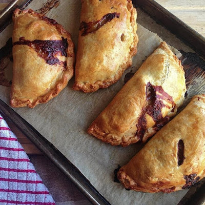 Recipe: Beef & Mushroom Pasties with Onion Marmalade & Cashel Blue Cheese