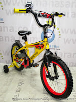 16 Inch Wimcycle Demon BMX Kids Bike