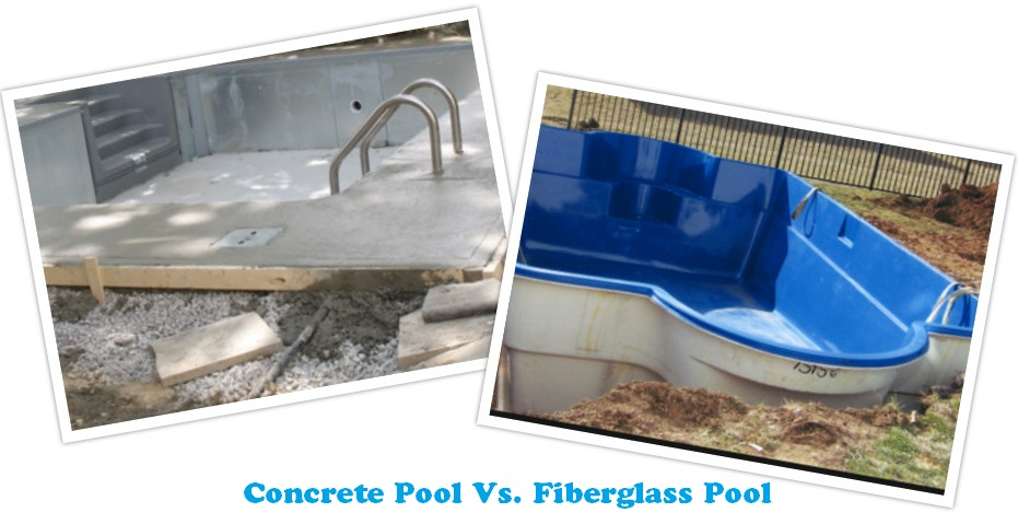 Pool landscaping maintenance march 2016 - Concrete swimming pools vs fiberglass ...