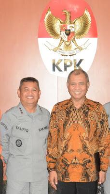 Kepala Bakamla RI Temui Lima Pimpinan KPK
