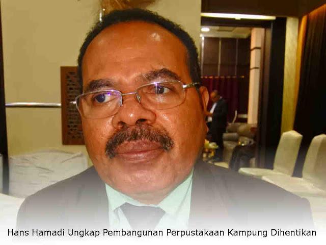Terbatas Anggaran, Hans Hamadi Ungkap Pembangunan Perpustakaan Kampung Dihentikan
