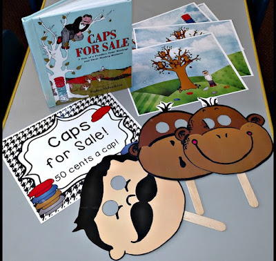 Caps for Sale Dramatic Play Center | Apples to Applique