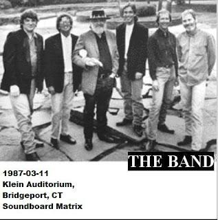 The Band - 1987-03-11 - Bridgeport, CT (SBD Matrix)