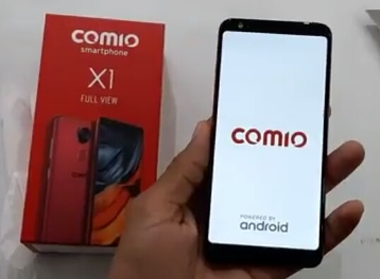 Comio X1 launches in India with full view display, price and features