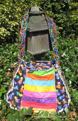 Sewing the Seasons Rag Purse Pattern Lexi Lou
