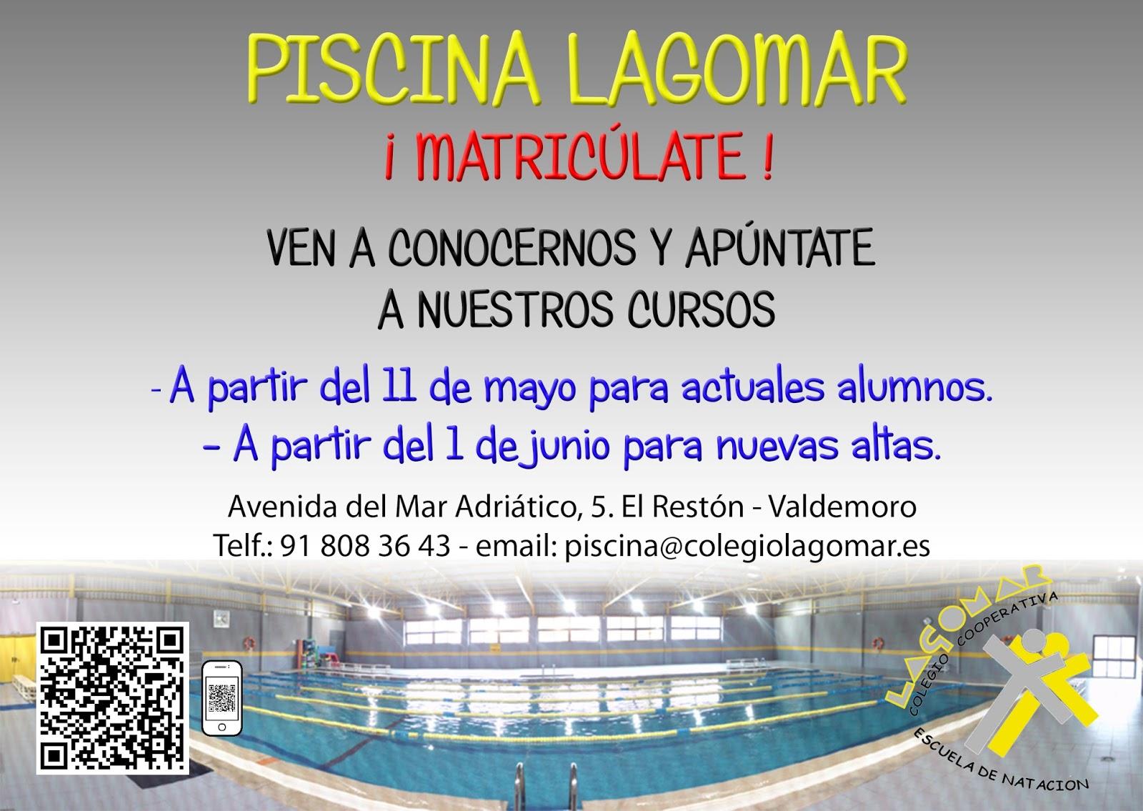 Piscina lagomar valdemoro cursos de nataci n for Piscina de valdemoro