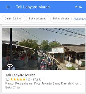 Sentra produksi tali lanyard murah Jakarta