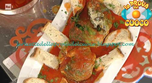 Prova del cuoco - Ingredienti e procedimento della ricetta Scarole imbottite alla cilentana di Anna Moroni