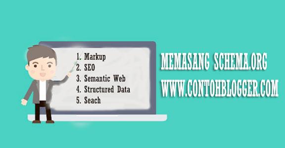 Memasang Struktur lengkap Schema.org Pada Blogger